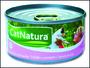Konzerva CAT NATURA tuňák + losos 85g