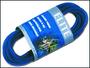 Hadička vzduchovací modrá silikon 3m