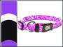 Obojek DogIT Cobra fialovo - černý XS