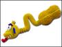 Hračka červ latex