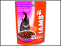 Iams Cat Adult Salmon kapsička