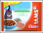 Iams Cat Adult Salmon / Ocean Fish kapsičky