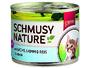 Konzerva Schmusy Nature´s Menü Junior losos + jehně
