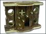 Domek dřevěný patrový 27x12,5x20cm