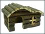 Domek dřevěný srub 19x11,5x11,5cm