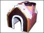 Domek Perníková chaloupka 9,5x11x10cm