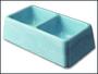 Dvojmiska betonová 2 x 0,1 l
