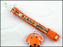 Obojek nylonový Dog square ribbon 20mmx35-50cm