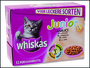 Kapsičky Whiskas Junior multipack